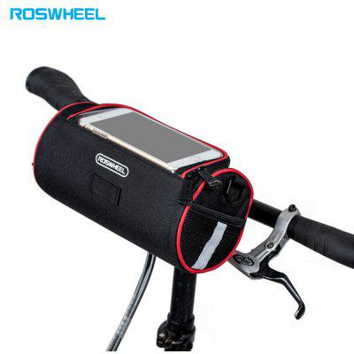 ROSWHEEL 3L Water Resistant Bicycle Front Tube Map Bag