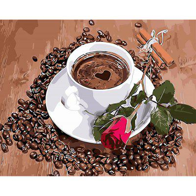 DIY Love Coffee Painting Art Wall Home Decoration