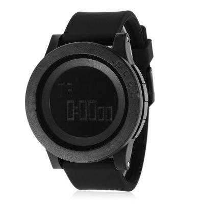 SKMEI 1142 Men Sport LED Digital WatchMens Watches<br>SKMEI 1142 Men Sport LED Digital Watch<br><br>Band Length: 8.46 inch<br>Band Material Type: Silicone<br>Band Width: 26 mm<br>Case material: PC<br>Case Shape: Round<br>Clasp type: Pin Buckle<br>Dial Diameter: 1.97 inch<br>Dial Display: Digital<br>Dial Window Material Type: Glass<br>Gender: Men<br>Movement: Digital<br>Package Contents: 1 x SKMEI 1142 Men Sport LED Digital Watch<br>Package Size(L x W x H): 7.50 x 7.50 x 7.70 cm / 2.95 x 2.95 x 3.03 inches<br>Package weight: 0.0910 kg<br>Product Size(L x W x H): 27.00 x 5.20 x 1.40 cm / 10.63 x 2.05 x 0.55 inches<br>Product weight: 0.0650 kg