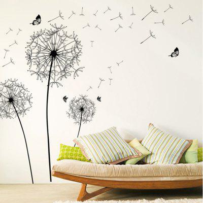 Creative Dandelion Home Decor Wall Sticker