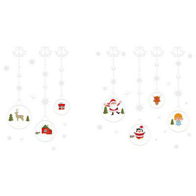 DIY Wall Stickers Window Clings Christmas Ornament