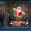 DIY Christmas Wall Stickers Window Clings Santa Claus - COLORMIX