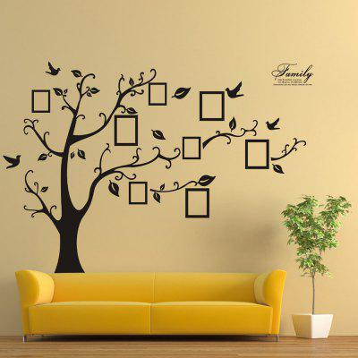 Creative Picture Tree Home Decor Wall Sticker 2PCS