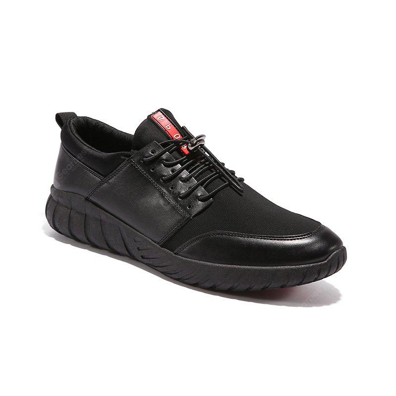 Leather Upper Material Fashion Men Casual Shoes