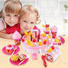 73PCS Party Birthday Cake Toy Play Fruit Food for Kids - PINK