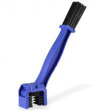 Bicycle Three Faced Chain Flywheel Cleaner Wheel Brush