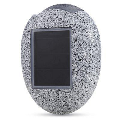 CIS - 57750  6PCS Solar Undergroud LED Light Fake Stone Lamp