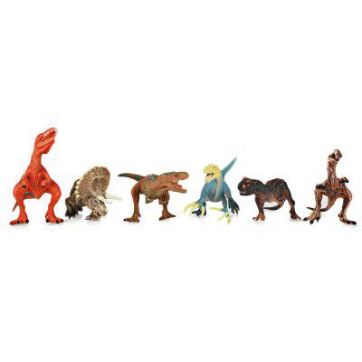 6PCS Dinosaurs Figures Toys Simulation Model for ChildrenBlock Toys<br>6PCS Dinosaurs Figures Toys Simulation Model for Children<br><br>Age Range: &gt; 3 years old<br>Material: Plastic<br>Package Contents: 6 x Dinosaur Model<br>Package Size(L x W x H): 23.00 x 14.00 x 7.50 cm / 9.06 x 5.51 x 2.95 inches<br>Package weight: 0.5130 kg<br>Product weight: 0.4300 kg