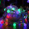 10m 100 LEDs Ball Globe Fairy String Light - COLORIDO