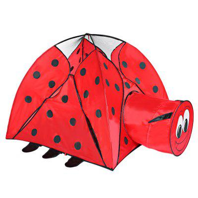 Indoor Playhouse Ladybird Pattern Kid Toy TentOutdoor Fun &amp; Sports<br>Indoor Playhouse Ladybird Pattern Kid Toy Tent<br><br>Age Range: 0-6 years old<br>Features: Foldable<br>Material: Polyester<br>Package Contents: 1 x Toy Tent, 1 x Pack of Tent Frames, 1 x Carry Bag<br>Package Size(L x W x H): 50.00 x 50.00 x 3.00 cm / 19.69 x 19.69 x 1.18 inches<br>Package weight: 0.8540 kg<br>Product Size(L x W x H): 120.00 x 120.00 x 97.00 cm / 47.24 x 47.24 x 38.19 inches<br>Product weight: 0.8540 kg<br>Type: Tent
