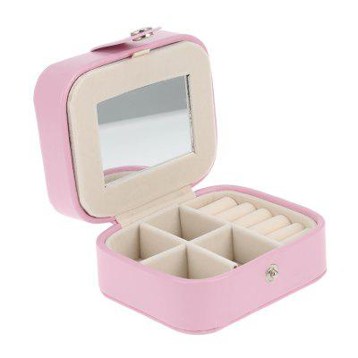 Portable Jewelry Case Storage Box