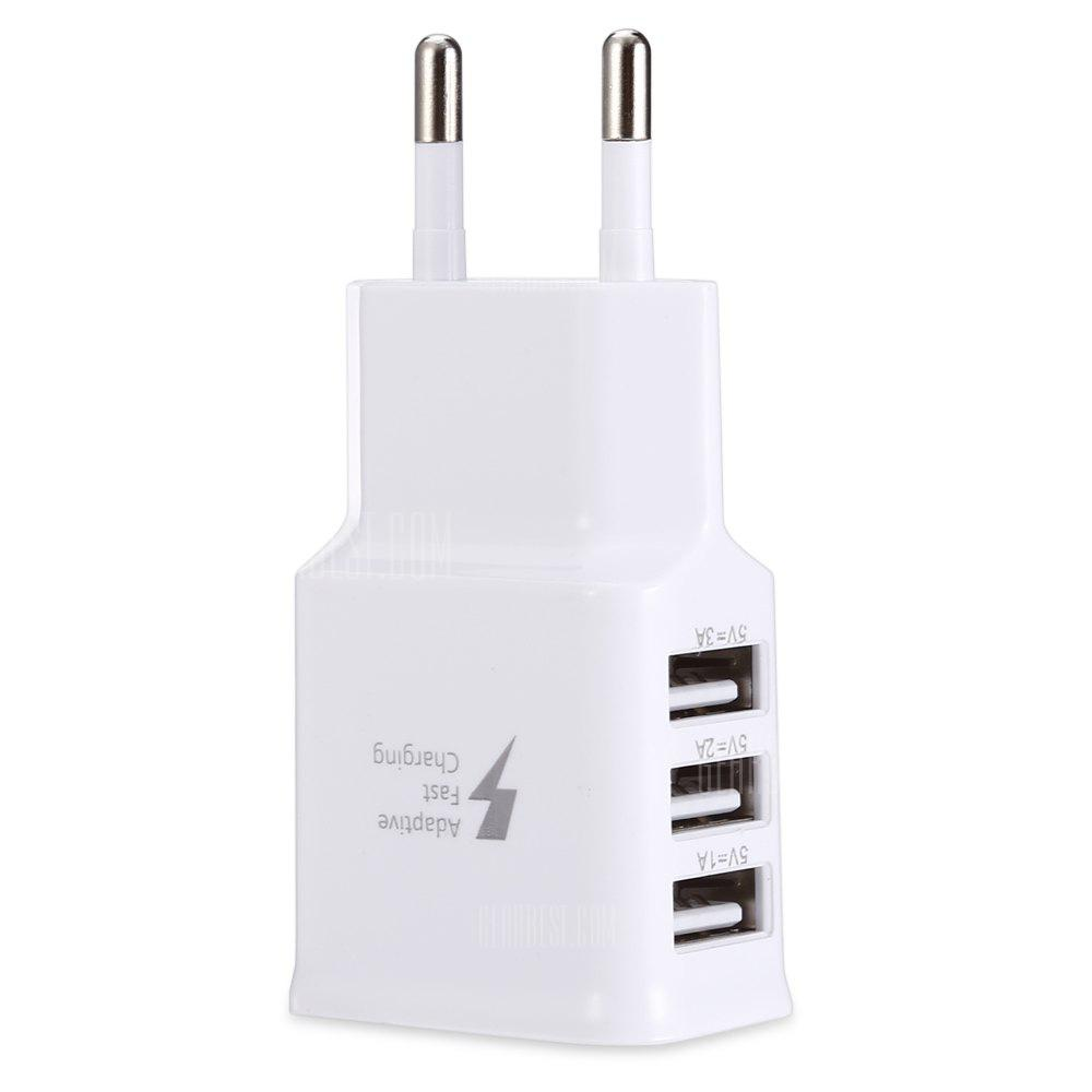 gocomma 2A 3 USB Ports Travel Charger Adapter