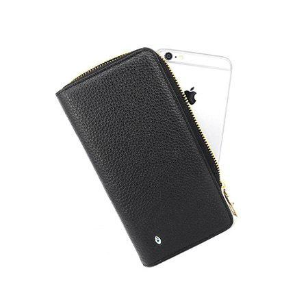 SMARTLB Male Zip-up Anti Lost / Theft Selfie Smart Wallet