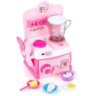 No.A205 Kitchen Blender Gas Stove Play Toy Food Playset