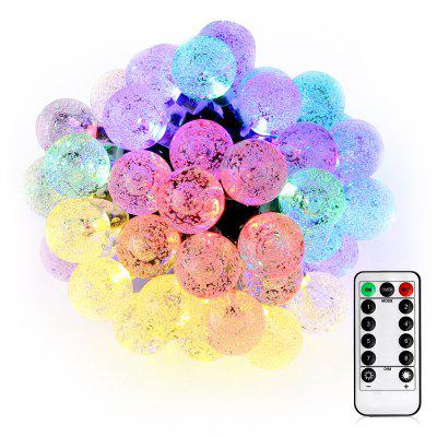 VCT - SLC - 031 50 LEDs String Light with Crystal Bubble Ball