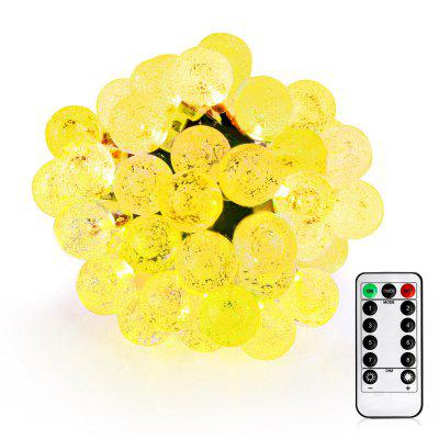 VCT - SLC - 031 50 LED String Light con Crystal Bubble Ball