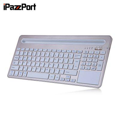 iPazzPort 85BT Wireless Keyboard Ultra-slim Design 96 Keys