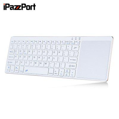iPazzPort 65BT Wireless Keyboard BT3.0 Ultra-slim Design 80 Keys