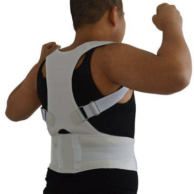 Buy WHITE L Adjustable Posture Corrector Belt for $6.41 in GearBest store