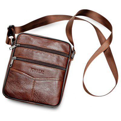 FONMOR PU Leather Messenger Men Crossbody Shoulder BagCrossbody Bags<br>FONMOR PU Leather Messenger Men Crossbody Shoulder Bag<br><br>Closure Type: Zipper<br>Gender: For Men<br>Handbag Size: Small(20-30cm)<br>Handbag Type: Crossbody bag<br>Interior: Interior Zipper Pocket, Interior Compartment, Cell Phone Pocket<br>Main Material: PU<br>Occasion: Business<br>Package Contents: 1 x Crossbody Bag<br>Package size (L x W x H): 19.00 x 8.00 x 23.00 cm / 7.48 x 3.15 x 9.06 inches<br>Package weight: 0.4500 kg<br>Pattern Type: Solid<br>Product size (L x W x H): 18.00 x 7.00 x 22.00 cm / 7.09 x 2.76 x 8.66 inches<br>Product weight: 0.4000 kg<br>Style: Casual