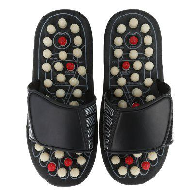 Foot Massage SlippersMassage &amp; Relaxation<br>Foot Massage Slippers<br><br>Item Type: Massage Relaxation<br>Package Content: 1 x Pair of Slippers<br>Package Size ( L x W x H ): 30.00 x 12.00 x 8.00 cm / 11.81 x 4.72 x 3.15 inches<br>Package weight: 0.5440 kg<br>Product weight: 0.5200 kg