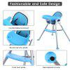 Oakome Multi-functional Highchair with Cushion for Babies - BLUE AND WHITE