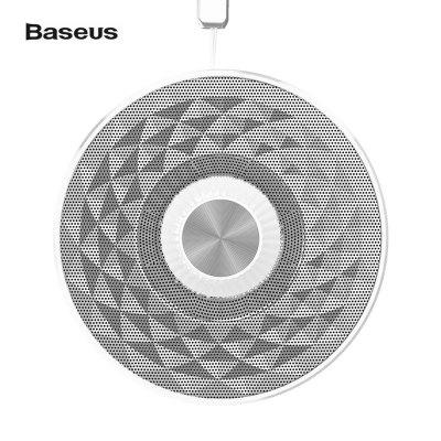 Buy Baseus E03 Bluetooth Speaker, SILVER WHITE, Computers & Networking, Computer Peripherals, Speakers for $23.61 in GearBest store