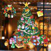 DIY Christmas Wall Stickers Removable Window Clings for Home Dress Shop Coffee House Supermarket Restaurant - COLORMIX