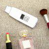 SY - 024 Ultrasonic Ion Skin Scrubber Spatula Face Massager - WHITE