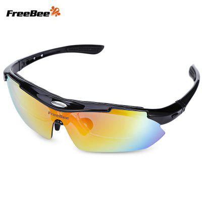 Buy PHOTO BLACK FreeBee 0089 Outdoor Cycling UV Protection Sunglasses for $13.22 in GearBest store