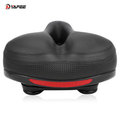 YAFEE Hollow Bike Saddle Seat with Reflective Strap
