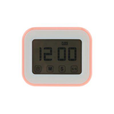 Touch Screen Kitchen Timer Magnetic Alarm Clock