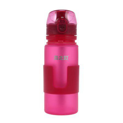 Silicone Folding Water Bottle for Outdoor Sport