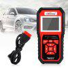 Konnwei KW850 OBD II / EOBD Auto Diagnostic Scanner - RED