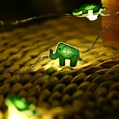 2M 20 LEDs Elephant Cooper Wire String Light