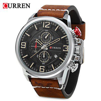 Curren 8278 Male Quartz Watch