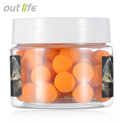 Outlife 10mm Soft Baits with Smell Carp Fishing Lures Grain