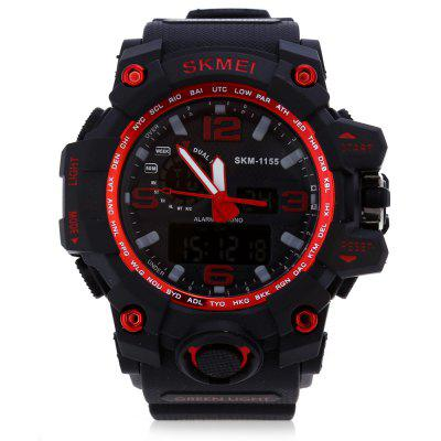 Купить со скидкой SKMEI 1155 Men LED Digital Quartz Watch