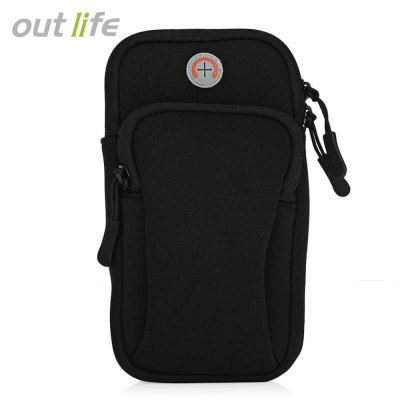 Outlife Outdoor Sport Fitness Running Arm Band Bag Pouch