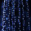 NW - 05300 300 LEDs Window Curtain String Light - COOL WHITE LIGHT
