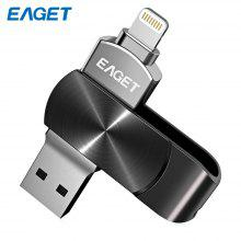 EAGET i66 USB 3.0 Flash Drive Type-C 2-in-1 Memory Stick