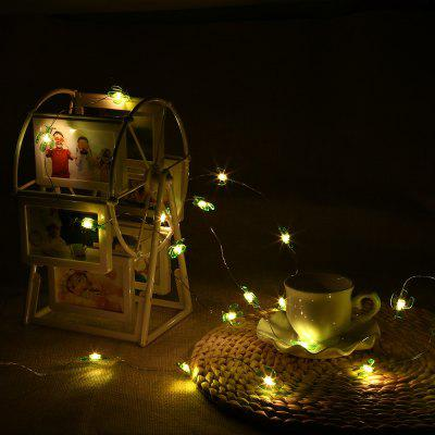 2m 20 LEDs Cactus Shape Cooper Wire String Light
