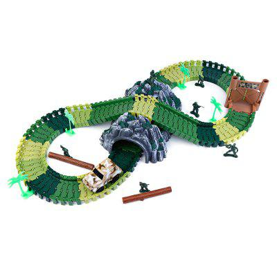 YALONGFA NO.378 96PCS NO.358 Race Track AssemblyBlock Toys<br>YALONGFA NO.378 96PCS NO.358 Race Track Assembly<br><br>Age Range: &gt; 3 years old<br>Material: ABS, Plastic<br>Package Contents: 96 x Racing Track, 1 x Car, 1 x Pack of Accessories<br>Package Size(L x W x H): 36.50 x 24.00 x 10.00 cm / 14.37 x 9.45 x 3.94 inches<br>Package weight: 0.7100 kg<br>Product weight: 0.6400 kg