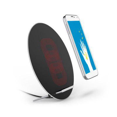 Ultra-thin Wireless Charger Charging Stand for PhoneChargers &amp; Cables<br>Ultra-thin Wireless Charger Charging Stand for Phone<br><br>Package Contents: 1 x Wireless Charger<br>Package Size(L x W x H): 19.00 x 19.00 x 4.00 cm / 7.48 x 7.48 x 1.57 inches<br>Package weight: 0.3200 kg<br>Power Source: USB<br>Product Size(L x W x H): 17.30 x 17.30 x 1.23 cm / 6.81 x 6.81 x 0.48 inches<br>Product weight: 0.2600 kg<br>Type: Wireless Charger