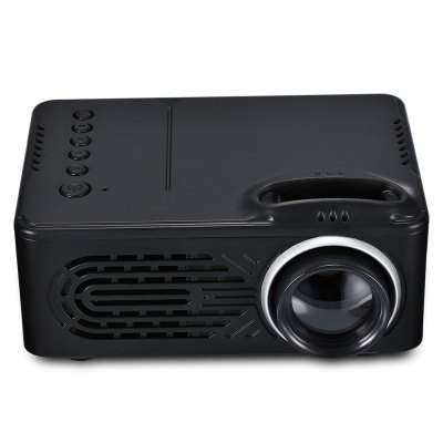 RD - 814 LED Mini Projector for Photo Music Movie Text