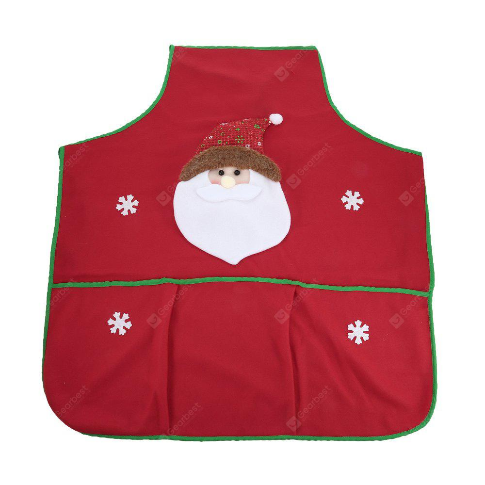 RED Christmas Style Kitchen Apron