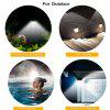 46-LED Solar Light Waterproof and Ultra-thin Wall Lamp - BLACK