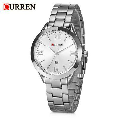 Curren 9007 Women Quartz Watch Calendar
