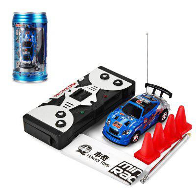 Gearbest 1 : 63 Coke Can Mini RC Racing Car Kids Gift