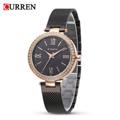 Curren 9011 Women Quartz Ultra-thin Dial Watch